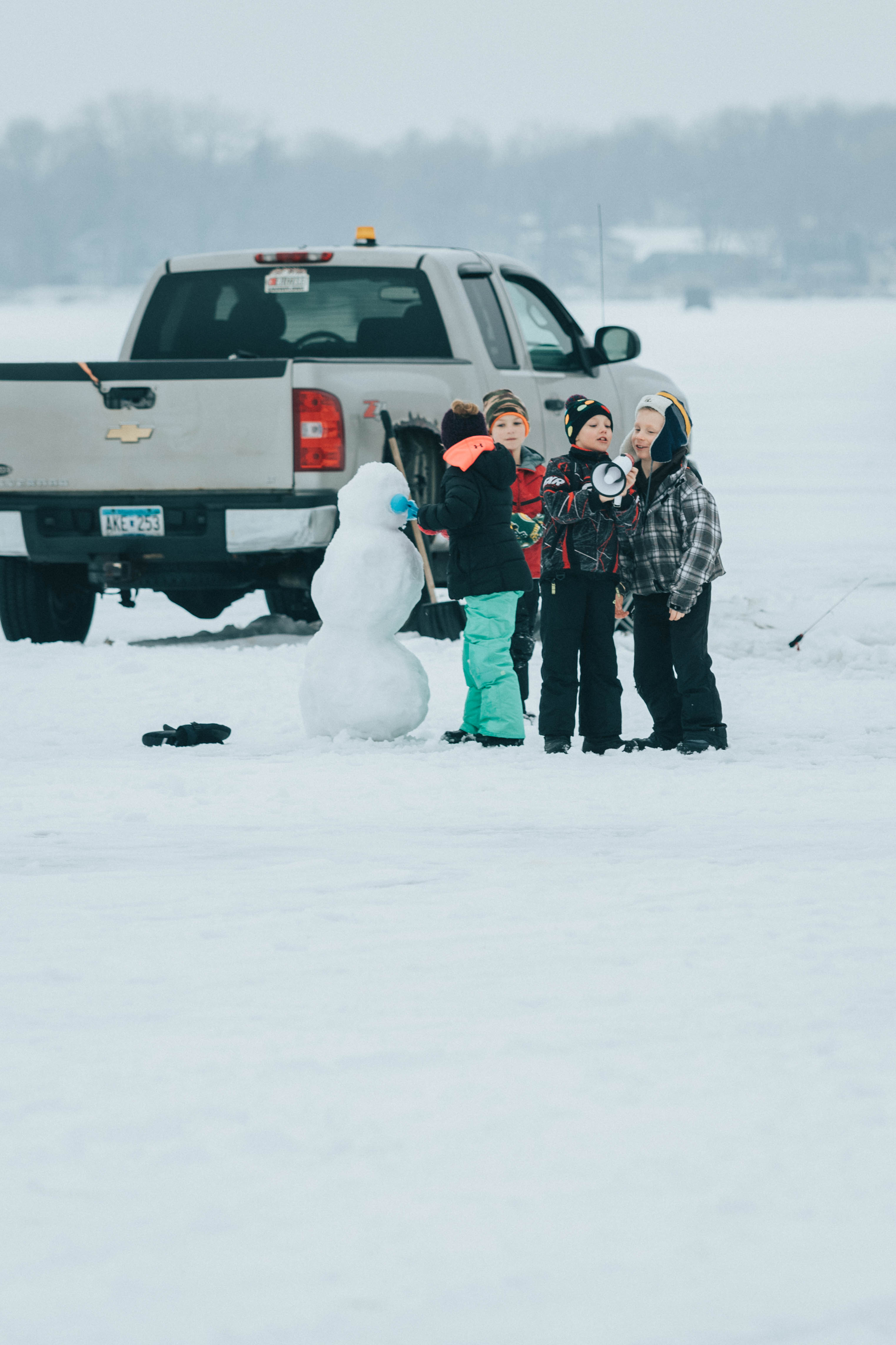SPRING LAKE ICE FISHING CONTEST/SHOP PARTY EXTRAVAGANZA